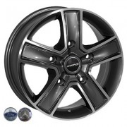Replica Ford (BK473) 6.5x16 5x160 ET60 DIA65.1 (GP)