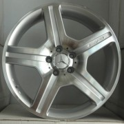 Replica Mercedes (MR530) 8.5x19 5x112 ET48 DIA66.6 (BKF)