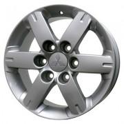 Replica Mitsubishi (MI623) 7x17 6x139.7 ET46 DIA67.1 (hyper silver)