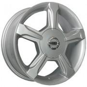 Replica Nissan (NS203) 6x15 4x114.3 ET40 DIA66.6 (silver)