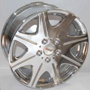 Sportmax Racing SR819 7.5x17 5x114.3 ET37 DIA67.1 (chrome)
