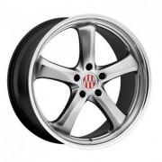 TSW Turismo 8.5x20 5x130 ET45 DIA71.6 (silver)