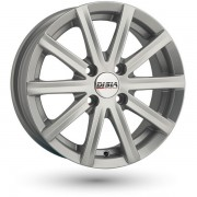 Disla Baretta R14 W6.0 PCD4x114.3 ET37 DIA69.1 silver