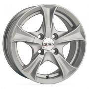 Disla Luxury 7.5x17 5x108 ET45 DIA67.1 (silver)