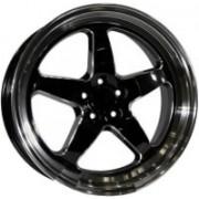 PDW 1043 8x18 5x100 ET42 DIA73.1 (gloss black)