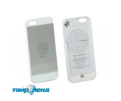 Чехол 240000-20-01 для беспроводной зарядки Inbay для iPhone 5/5S white