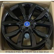Replica Ford (FD5473) 8x19 5x108 ET52.5 DIA63.4 (BK)