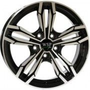 WSP Italy Green Line (G401) Pear 6.5x16 5x112 ET35 DIA73.1 (black polished)