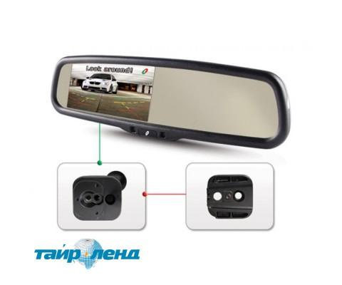 Сменная площадка для крепления зеркала Gazer MB011 (Renault, Mercedes, Nissan, Citroen, Geely)