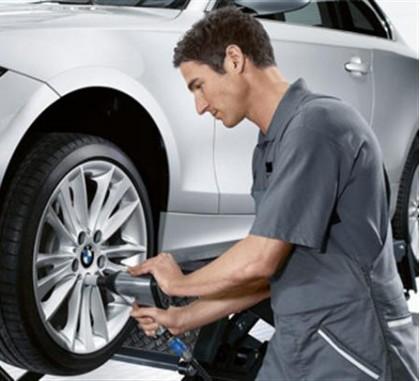 Скидка при покупке шин и дисков на услуги СТО -10%