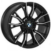 Replica BMW (QC1197) 8x17 5x120 ET30 DIA72.6 (MBL)