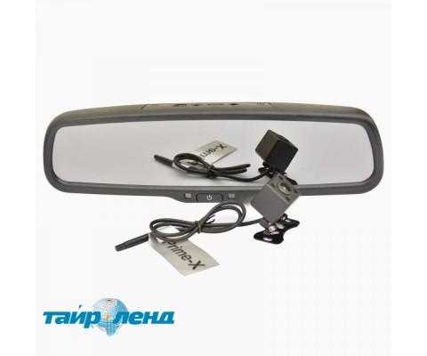 Зеркало заднего вида со встроенным Full HD видеорегистратором и камерой Prime-X S300