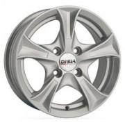 Disla Luxury R13 W5.5 PCD4x98 ET30 DIA67.1 silver