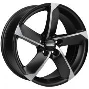 Fondmetal 7900 R16 W7.0 PCD5x100 ET35 DIA57.1 matt black polished