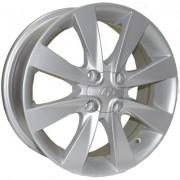 Replica Hyundai (Z457) 6x15 4x100 ET43 DIA54.1 (silver)