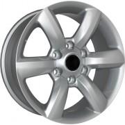 Replica Lexus (LX50) 7.5x17 6x139.7 ET25 DIA106.1 (silver)