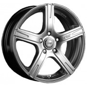 Racing Wheels H-372 6.5x15 5x112 ET40 DIA66.6 (BK-F/P)