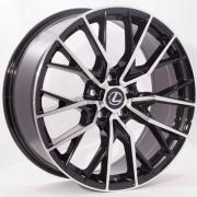Replica Lexus (BK5137) 8x19 5x114.3 ET35 DIA60.1 (BP)