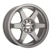 Disla JDM 8x18 5x100 ET45 DIA67.1 (silver)