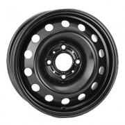 Steel Kapitan 6.5x16 5x114.3 ET45 DIA60.1 (black)