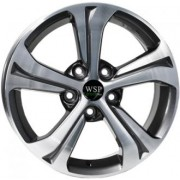 WSP Italy Green Line (G1801) Sage 6.5x16 5x114.3 ET40 DIA67.1 (anthracite polished)