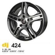 DJ 424 7x16 4x114.3 ET42 DIA72.6 (BD)
