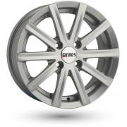 Disla Baretta R14 W6.0 PCD4x100 ET37 DIA67.1 silver