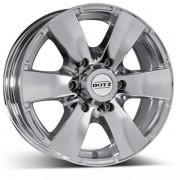 Dotz Luxor R17 W8.0 PCD6x139.7 ET20 DIA110.1 chrome