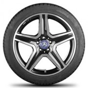 Mercedes OEM A1564010600 8x19 5x112 ET43.5 DIA66.6 (BKF)