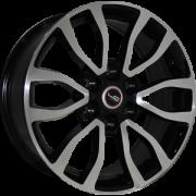 Replica Toyota (TY175) 7.5x18 6x139.7 ET25 DIA106.1 (BKF)