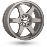 Disla JDM R17 W7.5 PCD4x108 ET40 DIA72.6 silver