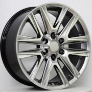 Replica Toyota (TY537) 8x18 6x139.7 ET25 DIA106.1 (silver)