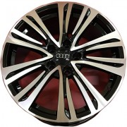 Replica Audi (A529) 8.5x19 5x112 ET28 DIA66.6 (BKF)