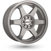 Disla JDM R18 W8.0 PCD5x100/112 ET45 DIA72.6 silver