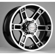 Racing Wheels H-468 8x16 6x139.7 ET10 DIA110.5 (BKFP)