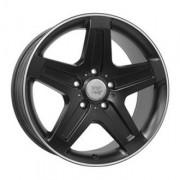 WSP Italy Mercedes (W779) Nagano 9.5x19 5x130 ET50 DIA84.1 (black)