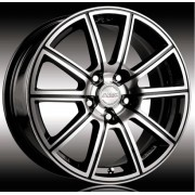 Racing Wheels H-423 7x16 4x108 ET40 DIA67.1 (BK-F/P)