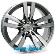 WSP Italy BMW (W672) Pandora X6 10x22 5x120 ET40 DIA72.6 (anthracite polished)